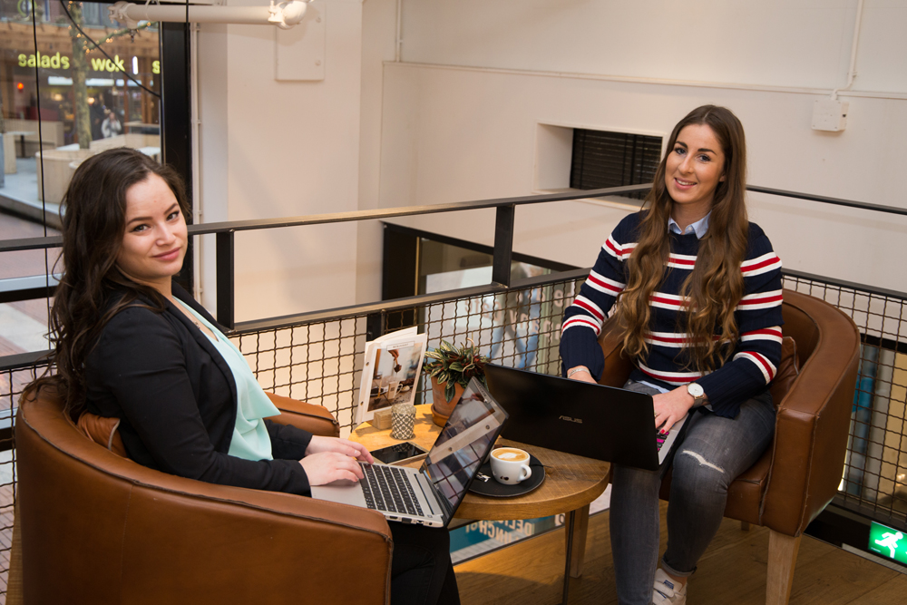 Shanice & Anne-Claire, GET IN CTRL.   Web design, web building & online marketing hulp